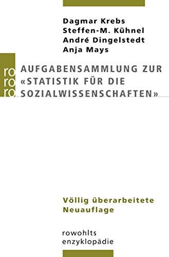 """Aufgabensammlung zur \""""Statistik für die Sozialwissenschaften\"""""""