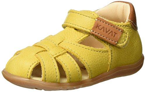Kavat Unisex-Kinder Rullsand Geschlossene Sandalen, Gelb (Yellow), 24 EU
