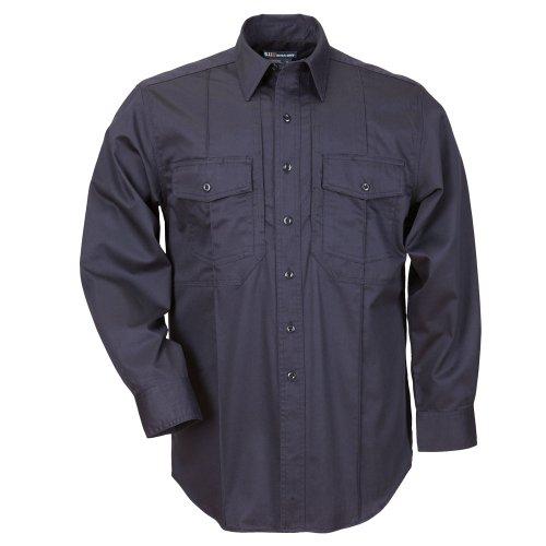 5.11Herren Non-NFPA Station Class–B Long Sleeve Shirt, XXL, Fire Navy