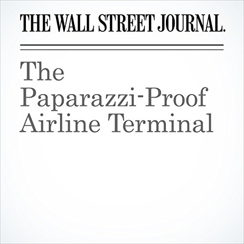 The Paparazzi-Proof Airline Terminal copertina