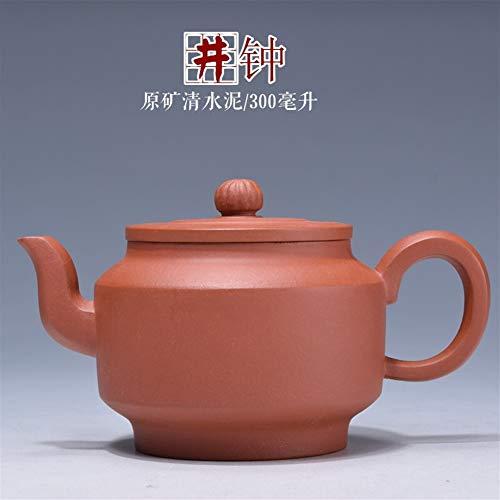 HePing Wu Qingfeng Pavilion Erz authentische Teekanne Teekanne gut bekannten Hand-Glocke zu Kung-Fu Teekanne Geschenk (Size : Duanmu)