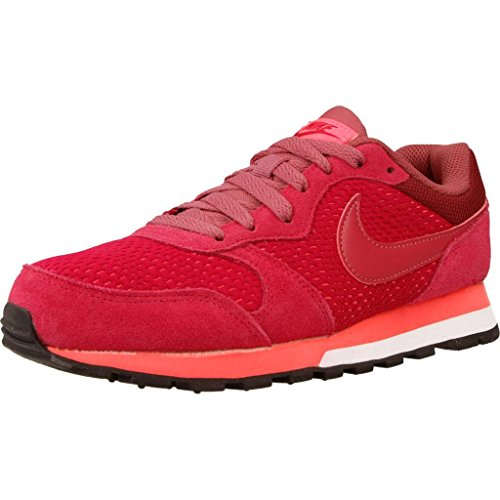 Nike Md Runner 2, Zapatillas para Mujer, Rojo (Noble Red/Port/Hot Punch), 36 EU