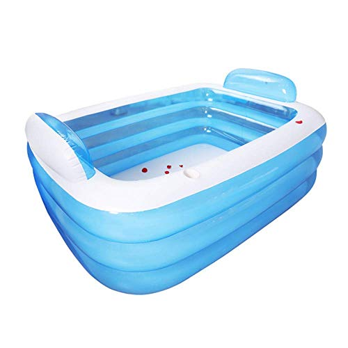 Hengyixing Inflatable Bathtub Foldable 3 Layers Large Family Swimming Pool Outdoor Garden Summer Inflatable Paddling Pools-m