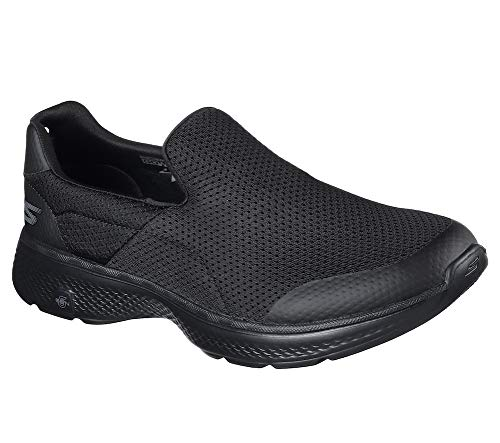 Skechers Performance Men's Go Walk 4 Incredible Walking Shoe, Black, 10 M US