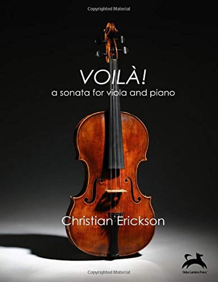 軽食アクセルサイズVoilà!: a sonata for viola and piano