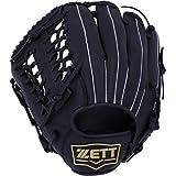 ZETT(ゼット) 野球グローブ 左利き 軟式/ソフトボール兼用 ライテックス オールラウンド用 ブラック(1900) BSGB3910 グラブ