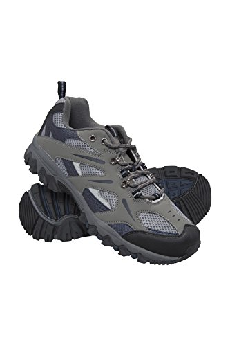 Mountain Warehouse Zapatillas Jungle para Hombre - Zapatillas de Correr Ligeras, Transpirables, Suaves, cómodas, Zapatillas Flexibles para el Gimnasio