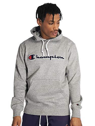 Champion Herren Kapuzenpullover Logo Hoodie