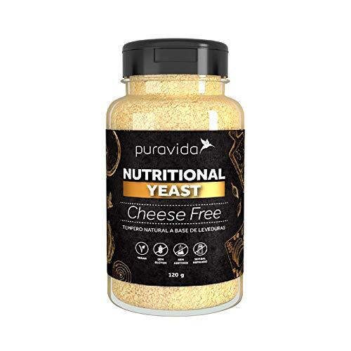 Nutritional Yeast Cheese Free (120g) - Pura Vida
