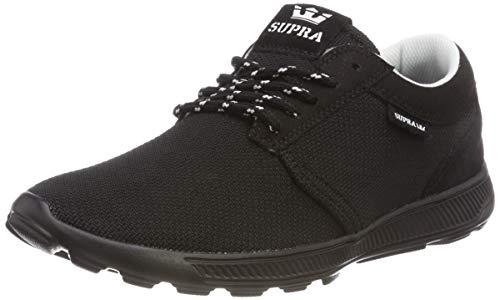 Supra Herren Hammer Run Sneaker, Schwarz (Black 008), 43 EU
