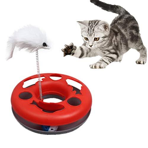 OUTANG Katzenspielzeug Katzenspielzeug Beschäftigung Kätzchen-Spielwaren für...