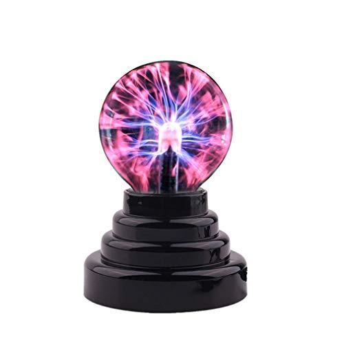 Cutfouwe Plasma Ball Lampe Magisches Licht Plasma Licht Globus Statisch Licht Berührung Magische Elektrostatische Ionenkugel,1pcs
