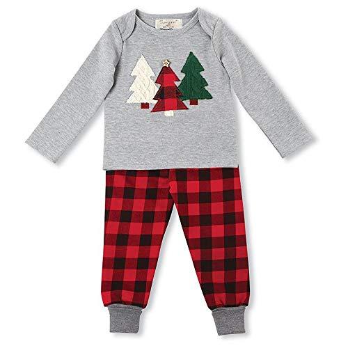 DYMAS Natale Bambini Insieme Natale Vestiti Abbigliamento Bambini Vestiti Ragazzi Bambino Bambini Set per Albero di Natale