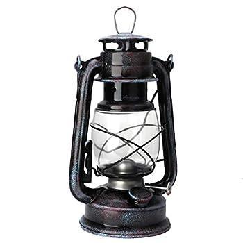 Oreilet Large Capacity Hurricane Lantern Portable Beautiful Oil Lamp High Strength Cafes for Kitchens for Warehouses Bars