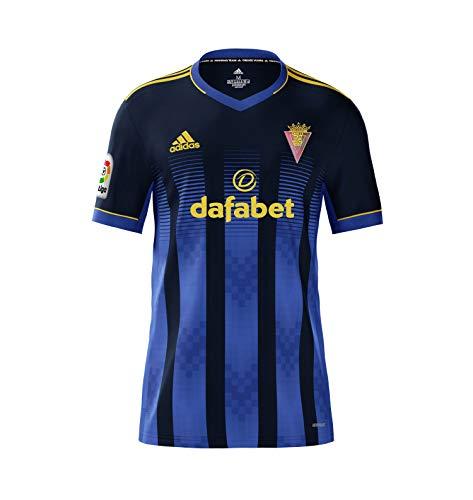 Cádiz C.F. Regular Fit Camiseta, Hombre, Azul, L