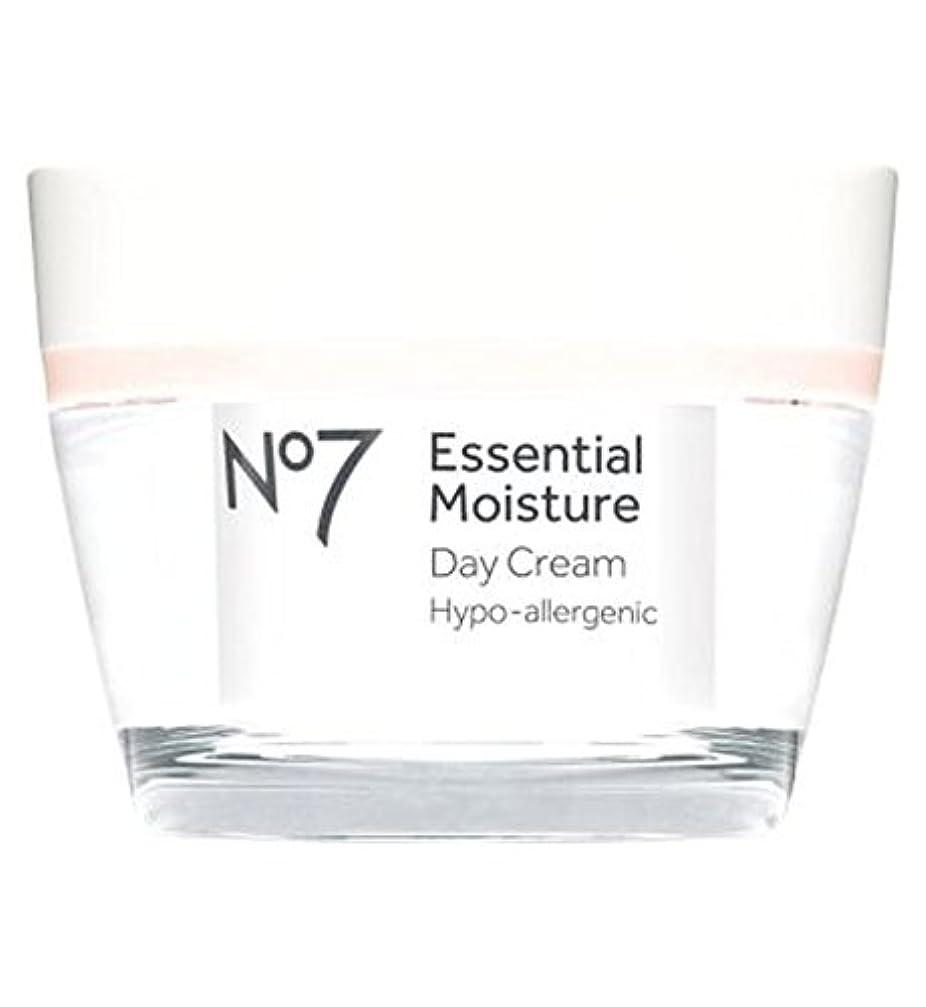 消化囲まれた落花生No7不可欠な水分デイクリーム50ミリリットル (No7) (x2) - No7 Essential Moisture Day Cream 50ml (Pack of 2) [並行輸入品]