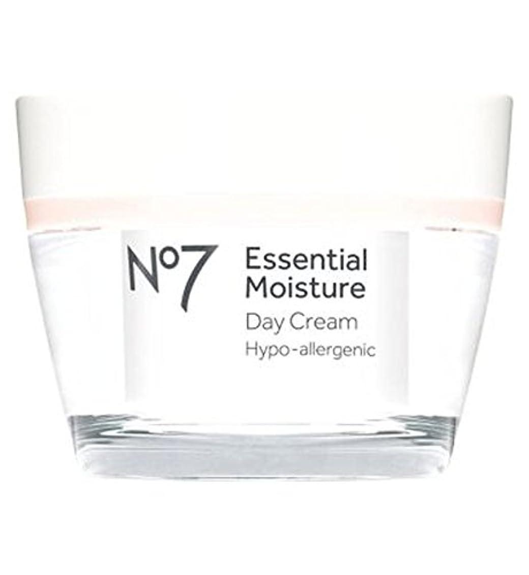 連帯露鉛No7 Essential Moisture Day Cream 50ml - No7不可欠な水分デイクリーム50ミリリットル (No7) [並行輸入品]