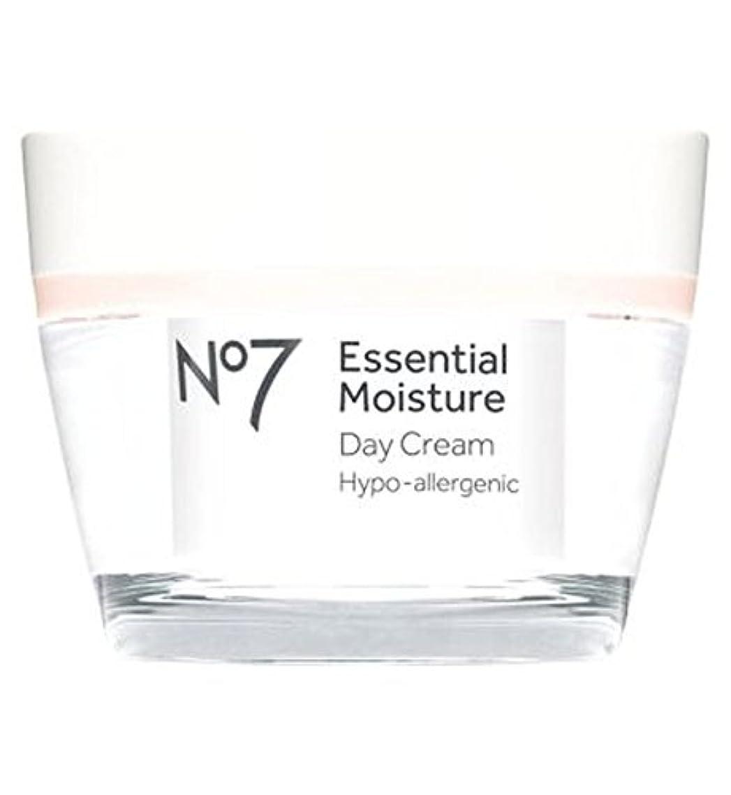 匹敵しますローズ命令的No7不可欠な水分デイクリーム50ミリリットル (No7) (x2) - No7 Essential Moisture Day Cream 50ml (Pack of 2) [並行輸入品]