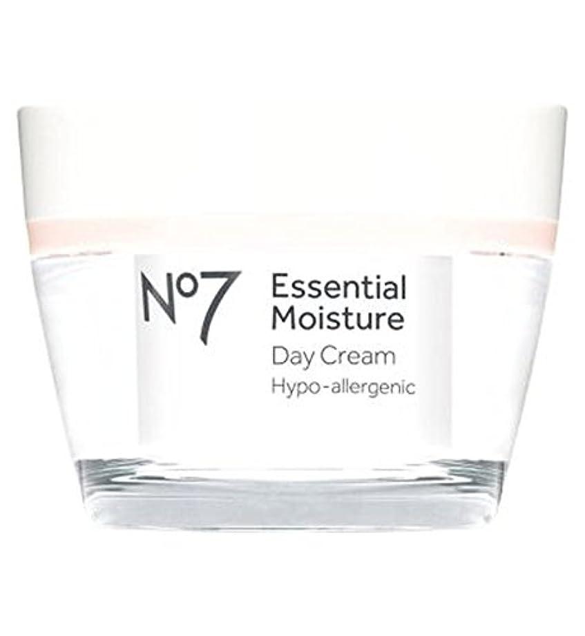 挑発するに虎No7 Essential Moisture Day Cream 50ml - No7不可欠な水分デイクリーム50ミリリットル (No7) [並行輸入品]