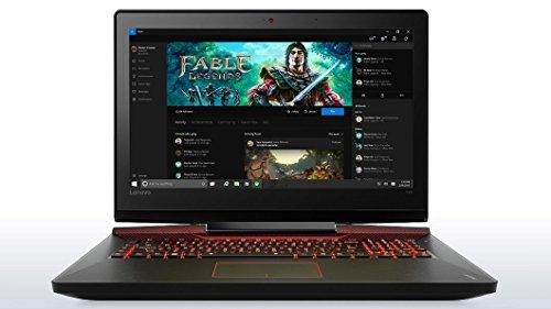 "Lenovo Ideapad Y900 - 17.3"" FHD Gaming Laptop (Intel Core i7, 16 GB RAM, 1TB HDD + 256 GB SSD, NVIDIA GeForce GTX 980M, Windows 10) 80Q1004JUS"
