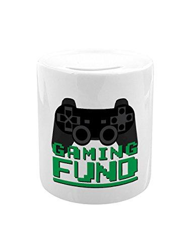 Grindstore Spardose Gaming Fund weiß
