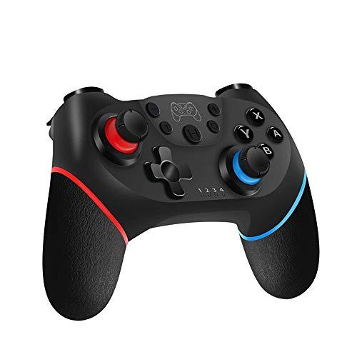 LRHD Bluetooth Wireless Controller Gamepad für Switch Console Game Joystick Support Gyro Achsenfunktion, Unterstützung Doppelmotor-Vibrationsfunktion, Keine NFC, Keine Weckfunktion