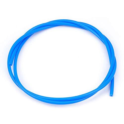 Furiga Tubo de PTFE Bowden de teflón para impresora 3D para filamento de 1,75 2mm to 4mm Accesorio de tubo 2M Azul