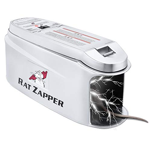Rat Zapper - Electronic Rodent Killer - Effective & Humane Mouse Trap Killer for Rats & Mice - Safe & Mess Free