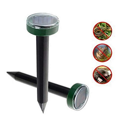 Mole Rat Repellent Solar Ultrasone Repeller Spike Garden Pest Afschrikkende