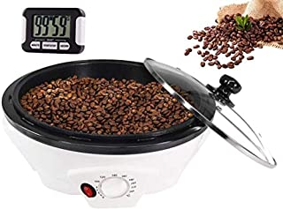 Household Coffee Roasters Machine Electric Coffee Beans Roaster for Cafe Shop Home Use(Upgrade 110V-120V)