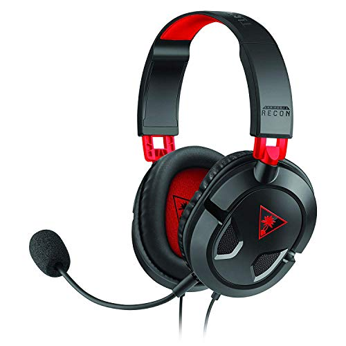 Turtle Beach Recon 50 Cuffie Gaming, Nero - PC, Nintendo Switch, PS4 e Xbox One