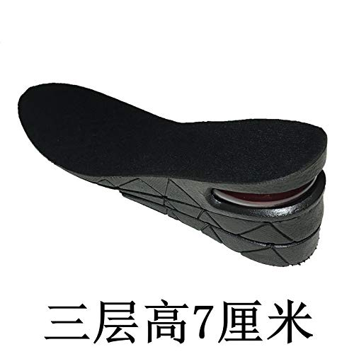 AMZYY Height Increase Shoe Insoles Air Cushion Heel Insert Men And Women,for Sneakers Work Boots And Walking Shoes Replacement Insoles,C