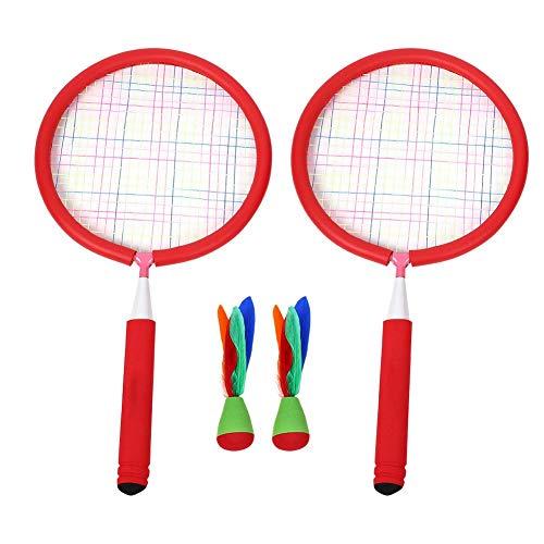 Bnineteenteam Badminton Set mit 2 Kinderschlägern, 2 Badminton für Kinder, Indoor/Outdoor Sport Game