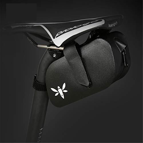IURIMA Trendy Mountain Rennrad Schnellverschluss Voll Wasserdicht Kissen Heck Tasche Hard Shell Tasche (L)
