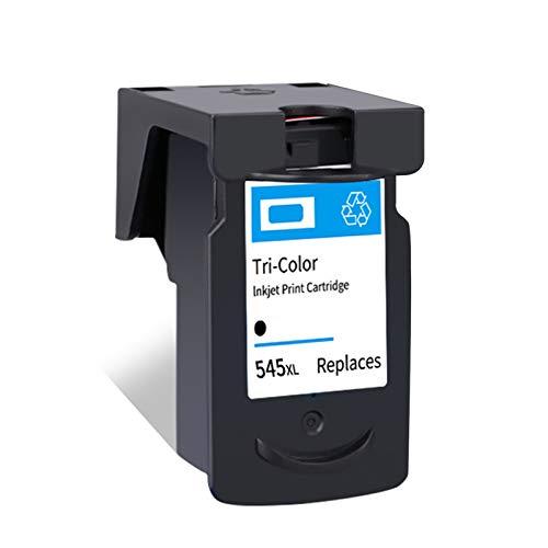 SXCD Cartuchos De Tinta PG545XL CL546XL para Canon PIXMA IP2850 MG2450 MX495 TS205 TR4550 Impresora De Tinta, Reemplazo De Alto Rendimiento para Cartucho Canon Negro Tri- Black