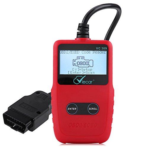 Qiilu OBD2 Auto Diagnosegerät OBD II Code Scanner