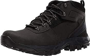 Columbia mens Newton Ridge Plus Ii Waterproof Hiking Boot, Black/Black, 10 US