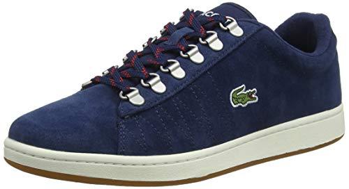 Lacoste Herren Carnaby Evo 319 3 SMA Sneaker, Blau (Navy/Offwhite J18), 46 EU