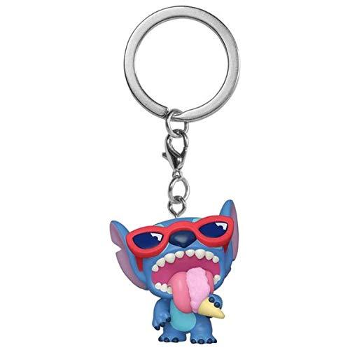 Lilo et Stitch POP!  Porte-clés en vinyle Summer Stitch Exclusive