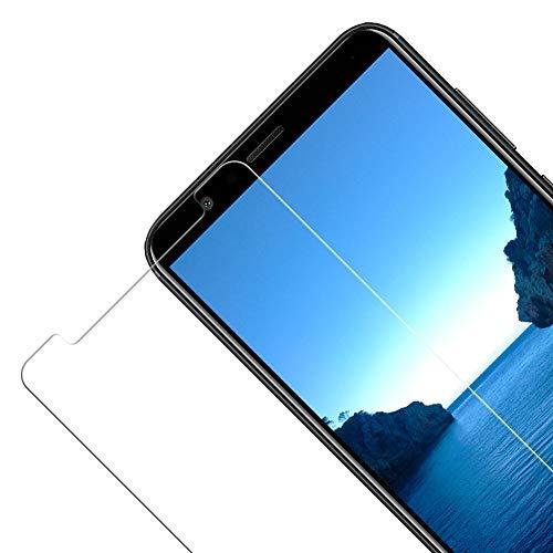 Vkaiy [2 Stück Panzerglas Schutzfolie kompatibel mit Huawei Honor 7X, 9H Härte, Anti-Kratzen, Anti-Öl, Anti-Bläschen Displayschutzfolie für Huawei Honor 7X - 4
