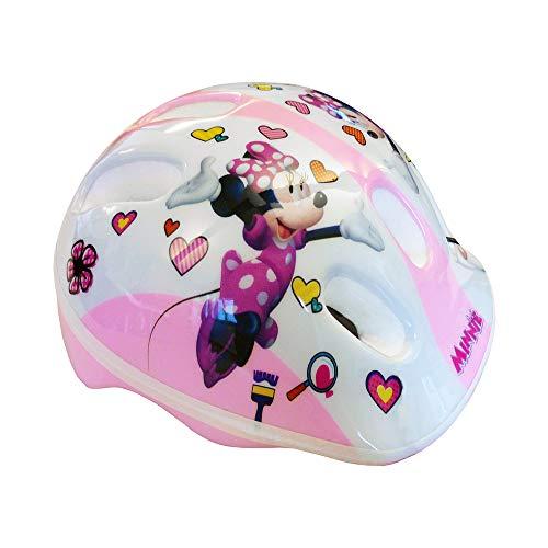 Disney Minnie Mouse Casco da Ciclo Bimba Bianco XS (44-48cm)
