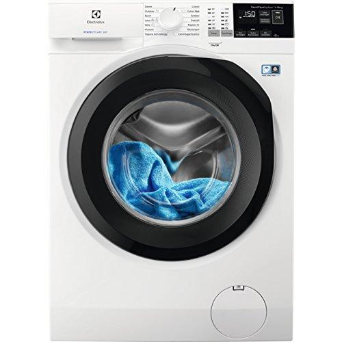 Electrolux EW6F412B Autonome Charge avant 10kg 1200tr/min A+++ Blanc machine à laver - Machines à laver (Autonome, Charge avant, Blanc, boutons, Rotatif, Gauche, LCD)
