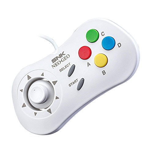 NEOGEO Mini International Collectors Pack: White (Includes NEOGEO Mini, 2 x White Controllers, HDMI Cable, Sticker Kit) (Electronic Games)