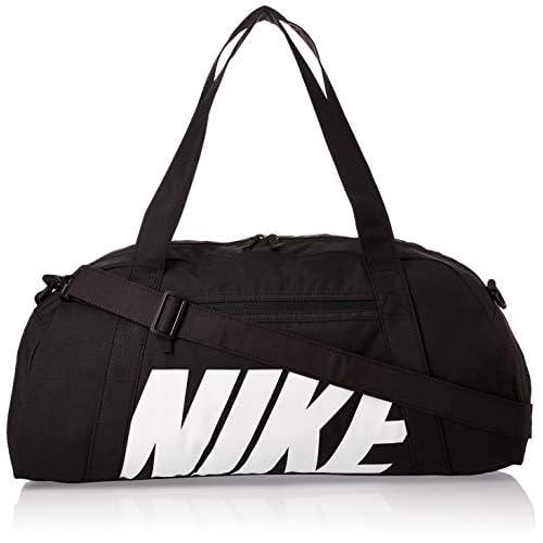Nike Gym Club Borsa per Palestra, Unisex – Adulto, Color Nero/Bianco, taglia unica, capacità 30 litri