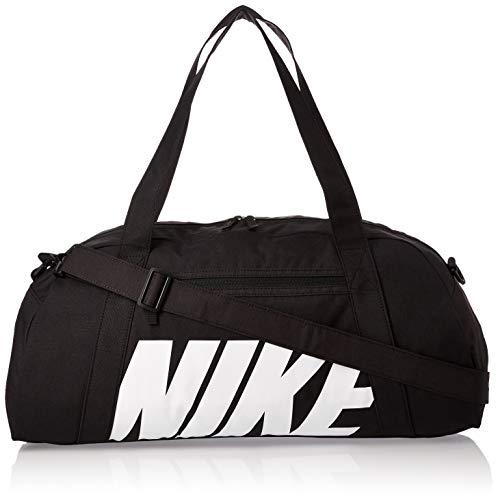 Nike W Nk Gym Club Bolsa de Gimnasio para Mujer, Negro (Blanco/Negro),...