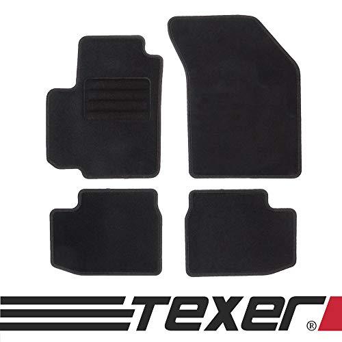 TEXER Textil Fußmatten Passend für Suzuki Swift III Bj. 2005-2010 Basic