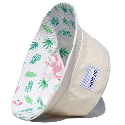 Unisex Zonnehoed Funky Plant Canvas Bucket Hat Fishmen Cap Outdoor Cap Beach Hat,2