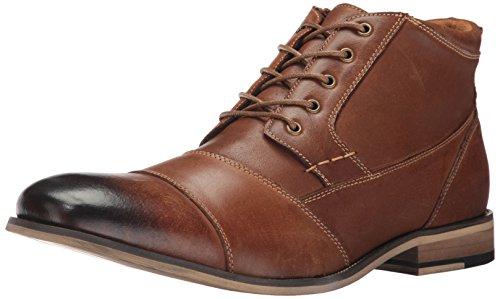 Steve Madden Men's Jabber Boot, Dark Tan, 11 M US