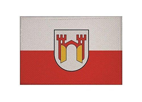 U24 Aufnäher Offenburg Fahne Flagge Aufbügler Patch 9 x 6 cm