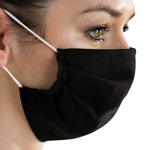 Baumwolle 𝙂𝙚𝙨𝙞𝙘𝙝𝙩𝙨𝙢𝙖𝙨𝙠𝙚 Abdeckung Wiederverwendbare Waschbare Mund Abdeckung für Erwachsene Doppelschicht Kerchief